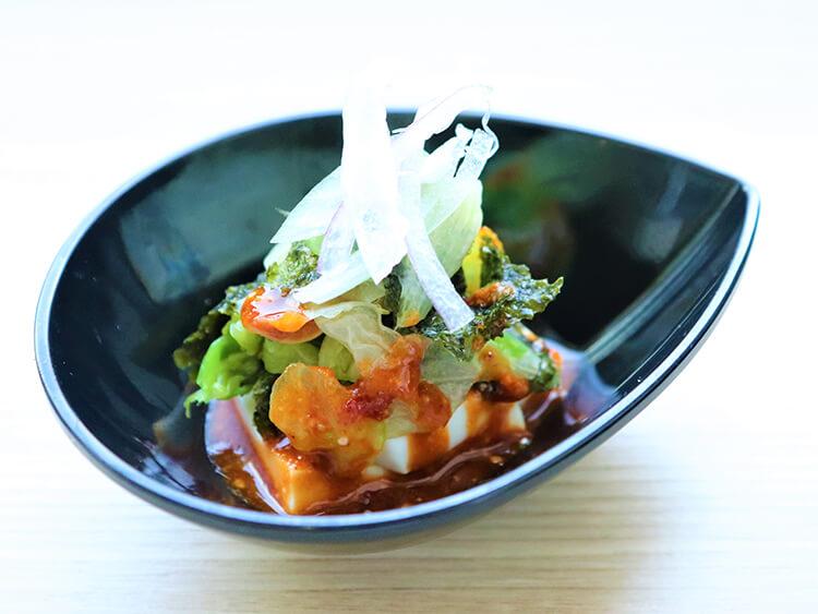 レタスの湯切りサラダ(コッチョリサラダ)