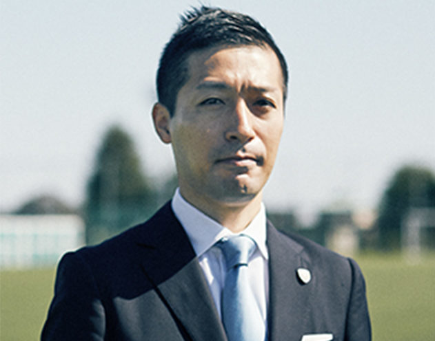 スポーツ事業<br>横浜フリエスポーツクラブ 代表取締役社長COO 上席執行役員(株式会社LEOC所属) 上尾 和大
