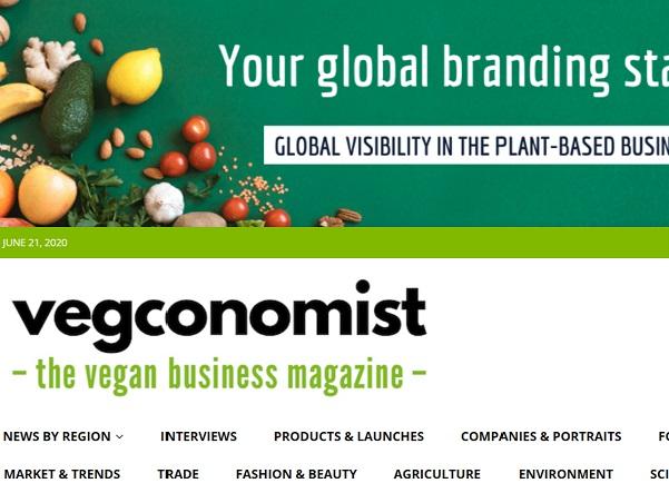 【メディア掲載】「1,000 Vegan Project」を「vegconomist」にご掲載いただきました