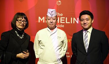 鮨 銀座おのでらNY店が2018年度NY版ミシュランガイドにて2つ星を獲得しました