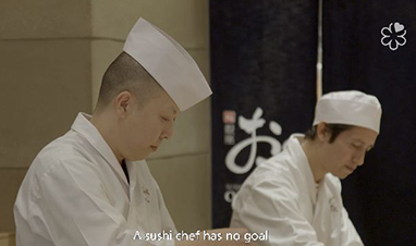 鮨 銀座おのでら NY店の斉藤料理長がミシュランからインタビューされました